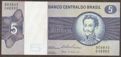 Brasil 5 Cruzeiros PK 192 c (1.974) MBC+
