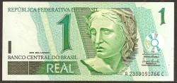 Brasil 1 Real PK 251a (2.003) S/C