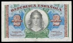 2 Pesetas 1938 República MBC+