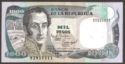 Colombia 1000 Pesos PK 438 (2-10-1.995) S/C