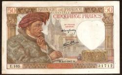 Francia 50 Francos PK 93 (8-1-1.942) EBC-