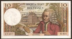Francia 10 Francos PK 147d (2-8-1.973) EBC