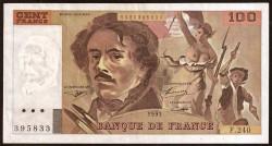 Francia 100 Francos PK 154g (1.993) MBC+