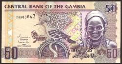 Gambia 50 Dalasis PK 28b (2.006) S/C
