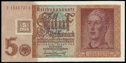 Alemania Democrática 5 Marcos PK 3 (1.948) S/C
