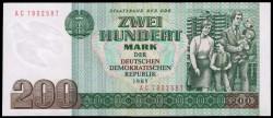 Alemania Democrática 200 Marcos PK 32 (1.985) S/C