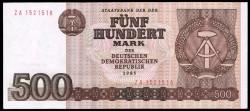 Alemania Democrática 500 Marcos PK 33 (1.985) S/C-