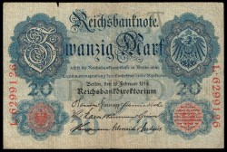 Alemania 20 Marcos PK 46b (19-2-1.914) MBC-