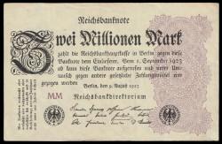 Alemania 2 Millones de Marcos PK 104c (9-8-1.923) EBC-