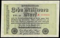 Alemania 100 Marcos PK 106a (22-8-1.923) S/C-