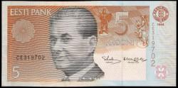 Estonia 5 Krooni Pk 76 (1.994/97) S/C