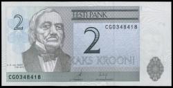 Estonia 2 Krooni Pk 85a (2.006) S/C