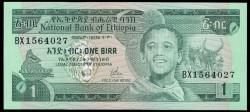 Etiopía 1 Birr PK 30b (1.976) S/C