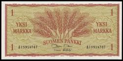 Finlandia 1 Markka Pk 98 (1.963) S/C