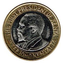 Kenia 2010 10 Shillings (Jomo Kenyatta) S/C