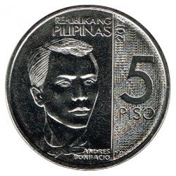 Filipinas 2016 5 Piso (Andrés Bonifacio) S/C