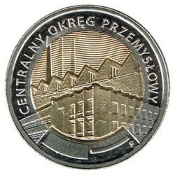 Poland 2017 5 Zlotys (Central Industrial District) UNC