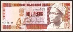 Guinea Bissau 1.000 Pesos PK 13 b (1-3-1993) S/C