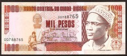 Guinea Bissau 1,000 Pesos PK 13 b (1-3-1993) UNC