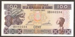 Guinea 100 Francos PK 35a (1.998) S/C
