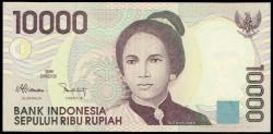 Indonesia 10.000 Rupias PK 137a (1.998) S/C