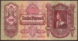 Hungría 100 Pengö PK 98 (1.930) S/C-