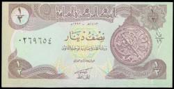 Iraq 1/2 Dinar Pick 78 (1993) UNC