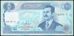 Iraq 100 Dinars Pick 84a (1994) XF