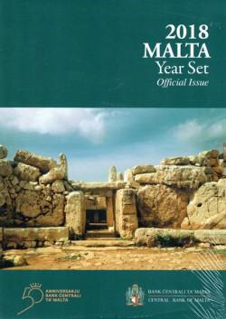 Malta 2018 Cartera Oficial S/C