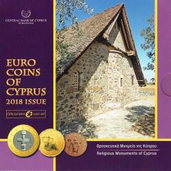 Cyprus 2018 Official Set UNC