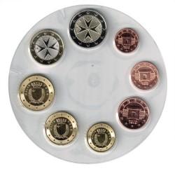 Malta 2018 1 cent - 2 euro coins UNC