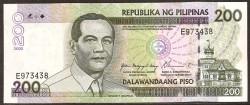 Filipinas 200 Piso PK 195a (2.002) S/C