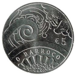 Portugal 2018 5 Euro The Baroque UNC