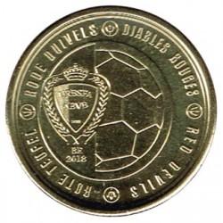 Bélgica 2018 2,5 Euros Diablos Rojos 2018 S/C