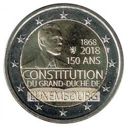 Luxemburgo 2018 2 Euros 150 Aniv de la Constitución de Luxemburgo S/C