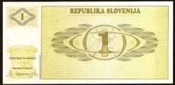 Eslovenia 1 Tolarjev PK 1 (1.990) S/C