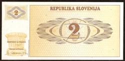 Eslovenia 2 Tolarjev PK 2 (1.990) S/C