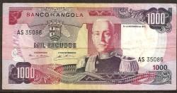 Angola 1,000 Escudos Pick 103 (24-11-1972) aVF
