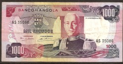Angola 1.000 Escudos PK 103 (24-11-1.972) MBC-