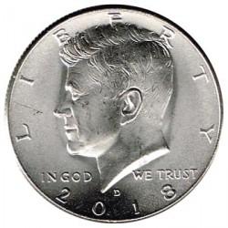 Estados Unidos (Kennedy) 2018 1/2 Dólar Kennedy Letra D S/C