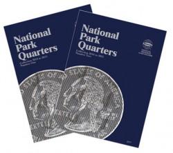Álbunes de Monedas Whitman Colección Cuartos de Dólar Parques Nacionales (2010-2021) Vol I y II