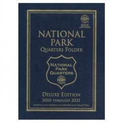 """Álbum de Monedas Whitman """"Deluxe"""" Colección Cuartos de Dólar Parques Nacionales (2010-2021)"""