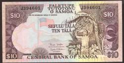 Samoa Occidental 10 Tala PK 34b (2.002) S/C