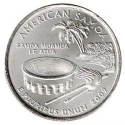Estados Unidos (Estados) 2009 1/4 Dólar Letra P (Samoa Americana) S/C