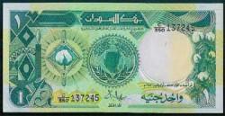 Sudán 50 Piastras PK 38 (1.987) S/C