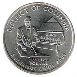 United States (States) 2009 1/4 Dollar District of Columbia D UNC