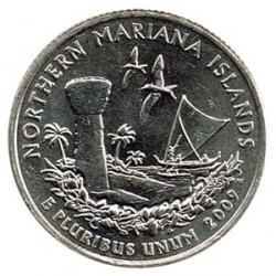 Estados Unidos (Estados) 2009 1/4 Dólar Letra D (Islas Marianas del Norte) S/C