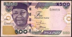 Nigeria 500 Naira Pick 30b (2004) UNC