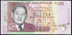 Mauricio (Islas) 25 Rupees PK 49d (2.009) S/C