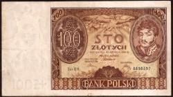Polonia 100 Zlotych PK 75 (9-11-1.934) MBC-